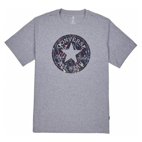 Converse T-Shirt Herren SPLATTER PAINT CHUCK TAYLOR TEE 10021506 035 Grau