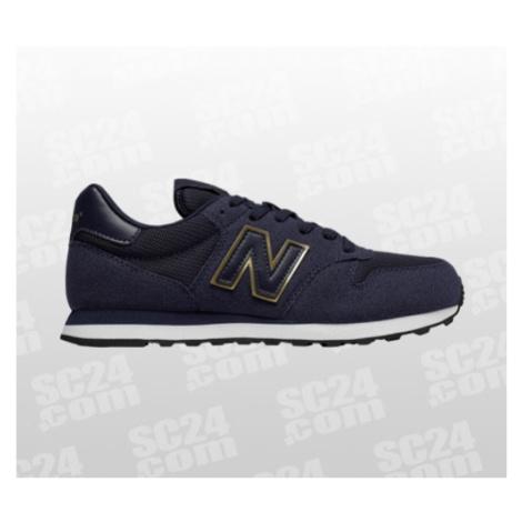 New Balance 500 B Women blau/gold Größe 40