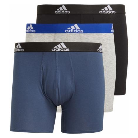 Adidas Originals Herren Boxershorts Dreierpack BOS BRIEF GN2017 Mehrfrarbig