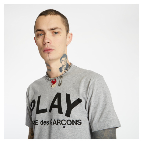 Comme des Garcons PLAY Tee Grey