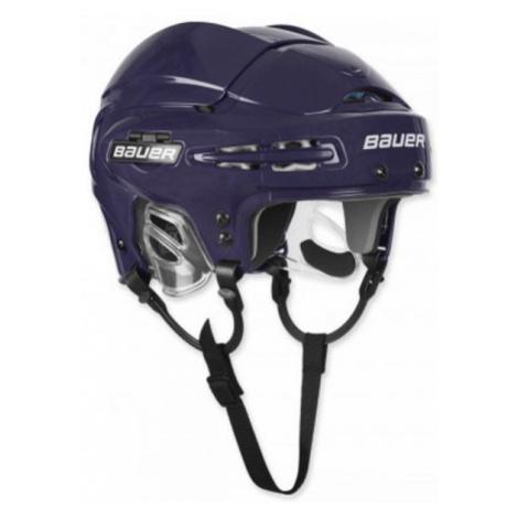 Blaue hockeyhelme