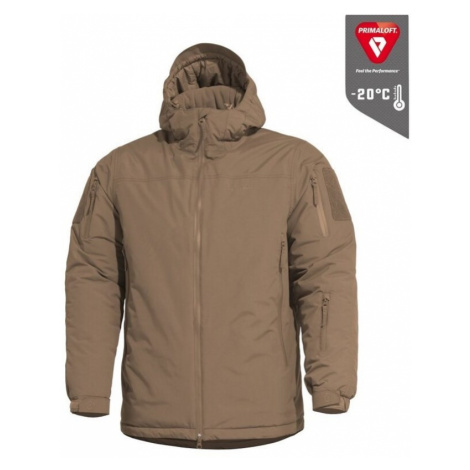 Winter Jacke PENTAGON® Velocity PrimaLoft® Ultra ™ coyote