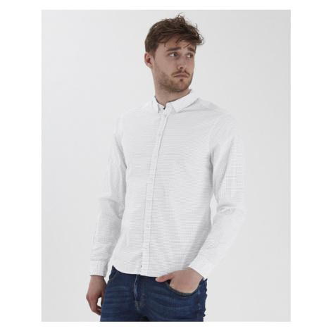 Blend Hemd Weiß