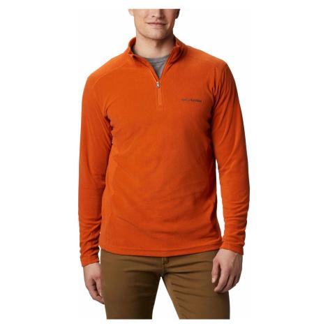 Columbia Klamath Range II Half Zip Herren Fleecepullover orange