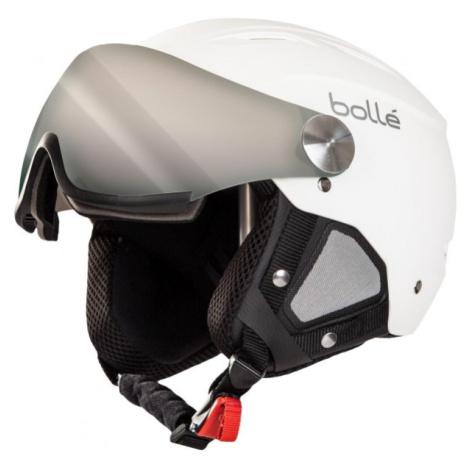 Bolle BACKLINE VISOR +1 weiß - Skihelm