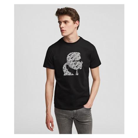 T-Shirt mit Silhouette von Karl Karl Lagerfeld