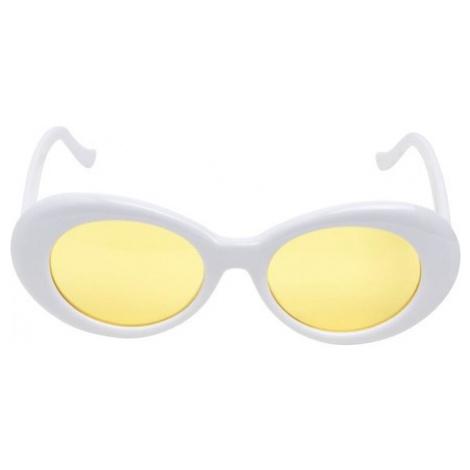 Urban Classics 2 Tone Sunglasses wht/yel