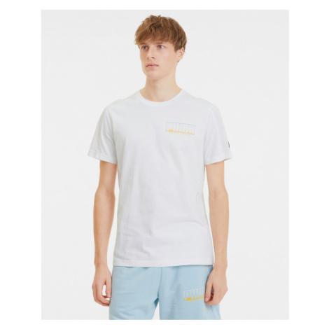 Puma Athletics Advanced T-Shirt Weiß