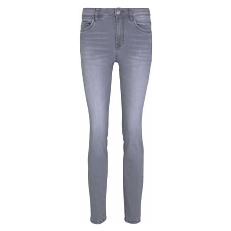 TOM TAILOR Damen Alexa Slim Jeans, grau