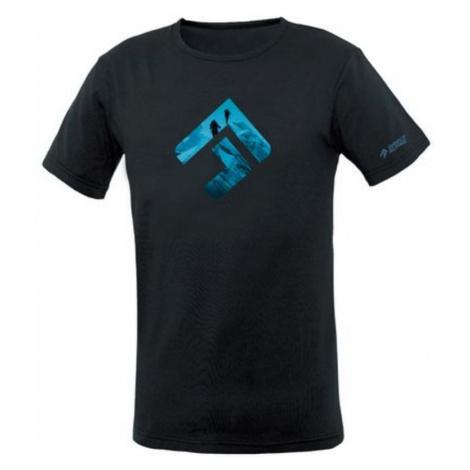 T-Shirt Direct Alpine Bosco schwarz/blau (marke)