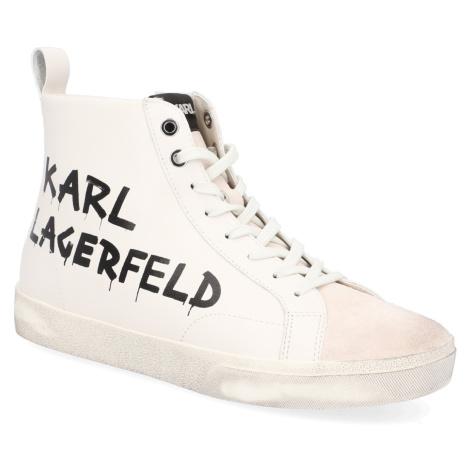 KARL LAGERFELD SKOOL Brush Logo Hi Boot