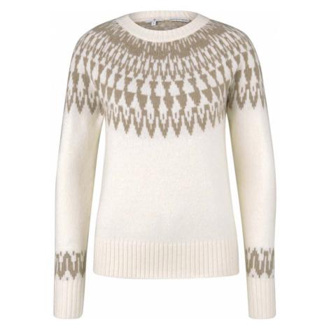 TOM TAILOR Damen Pullover mit Shetland-Muster, beige