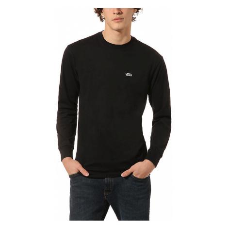 VANS Left Chest Hit Langarm-t-shirt (black-white) Herren Schwarz