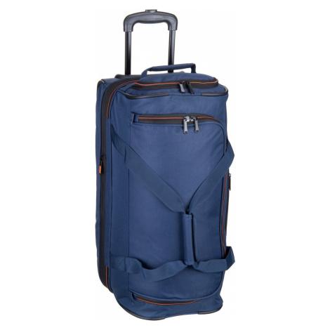 Travelite Reisetasche mit Rollen Basics Trolley Reisetasche S Marine (51 Liter)