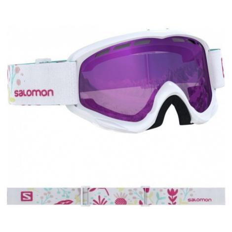 Salomon JUKE weiß - Junioren Skibrille