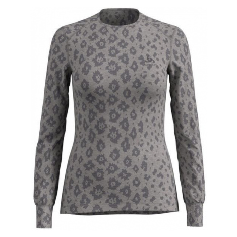 Odlo SHIRT L/S X-MAS ACTIVE LADIES WARM grau - Damen Shirt