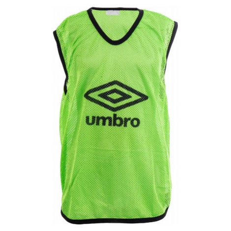 Umbro MESH TRAINING BIB - 65 X 52CM - Junior grün - Kinder Trainingsleibchen