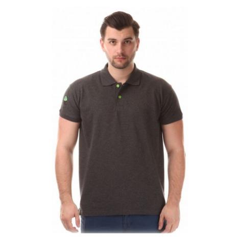 Herren T-Shirt mit kragen Nordblanc NBSMT6215_GRM