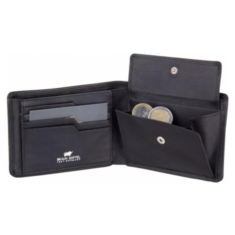 Braun Büffel Geldbörse Golf Secure 90031 Geldbörse Schwarz