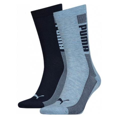 Puma SOCK 2P UNISEX PROMO blau - Unisex Socken