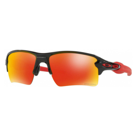 Sonnen Brille OAKLEY Flak 2.0 XL Pol Blk w/ PRIZM Ruby OO9188-8059