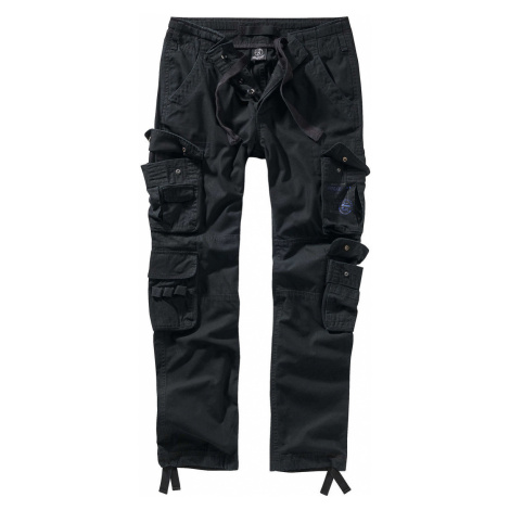 Herren Hose BRANDIT - Pure slim fit - 1016-black XXL