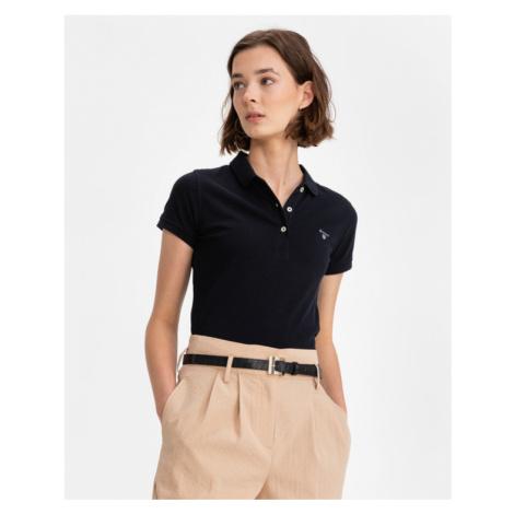 Gant MD. Summer Polo T-Shirt Schwarz