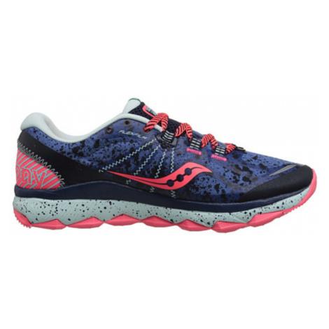 Damen Lauf Schuhe Saucony Nomad TR Blau / Marine / Koralle