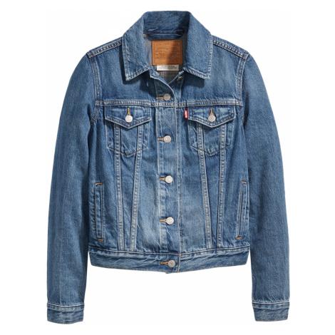 Levi's® Damen Jeansjacke Original Trucker - Blau - Soft As Butter Dark Levi´s
