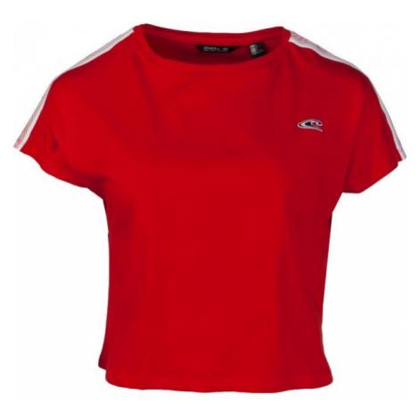 O'Neill LW WAVE CROPPED TEE rot - Damen-T-Shirt