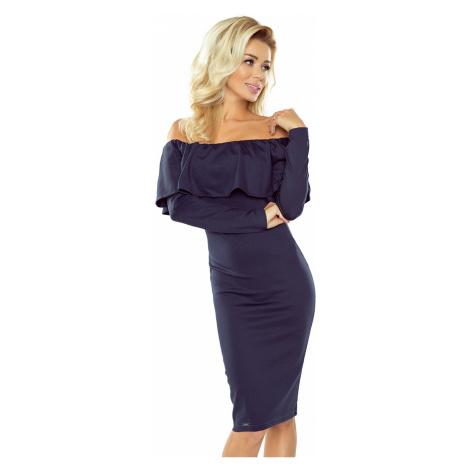 Damen Kleider 156-1 blue NUMOCO