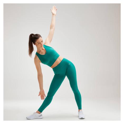 MP Women's Power Longline Sports Bra - Energy Green