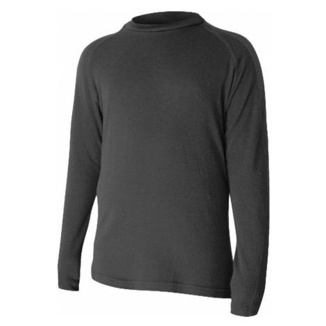 Merino T-Shirt Lasting HASSE 9090 black Wolle
