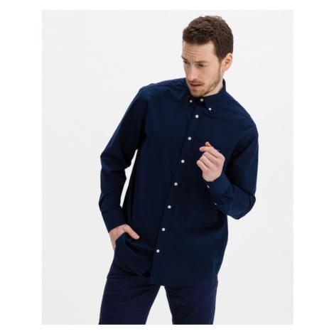 Gant Reg Broadcloth Hemd Blau