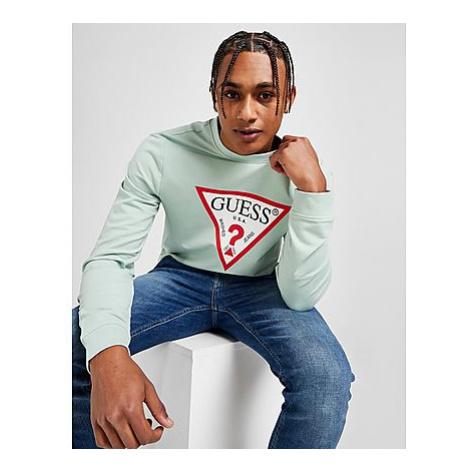 GUESS Triangle Logo Sweatshirt Herren - Herren