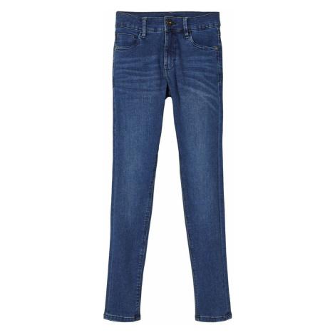NAME IT Skinny Fit Jeans Herren Blau