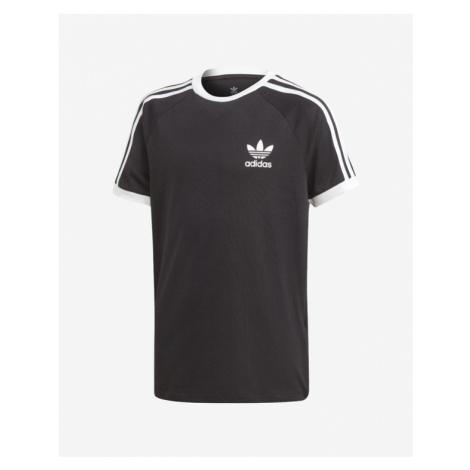 adidas Originals 3 Stripes Kinder  T‑Shirt Schwarz