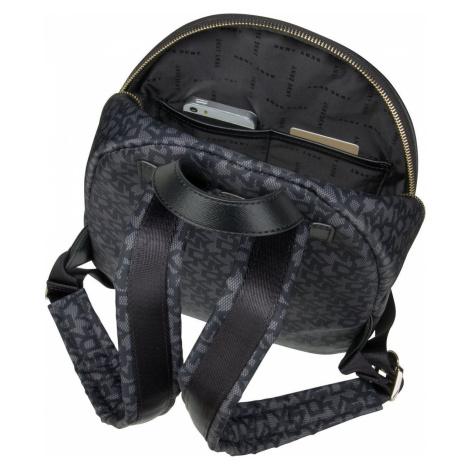 DKNY Rucksack / Daypack Casey Medium Backpack Black Logo/Black