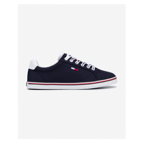Tommy Jeans Essential Lace Up Tennisschuhe Blau Tommy Hilfiger