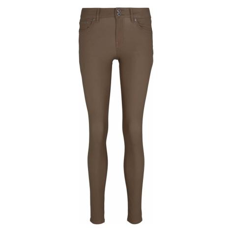 TOM TAILOR DENIM Damen Jona extra Skinny Jeans, braun
