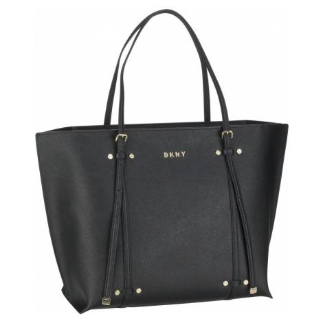DKNY Handtasche Bo Saffiano Tote Black/Gold (12.5 Liter)