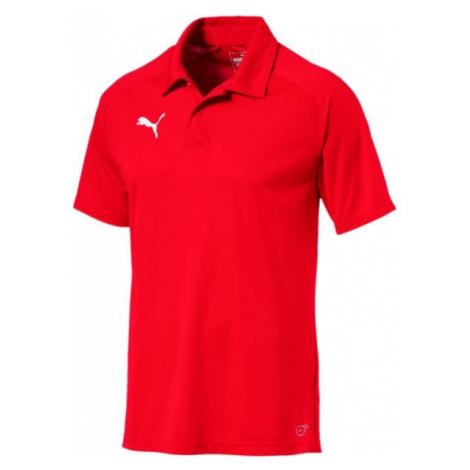 Puma LIGA SIDELINE POLO rot - Polohemd für Herren