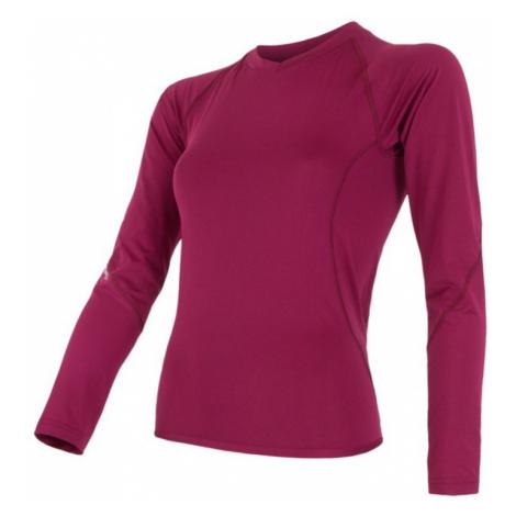 Damen T-Shirt Sensor Coolmax Fresh Lilla 15100055