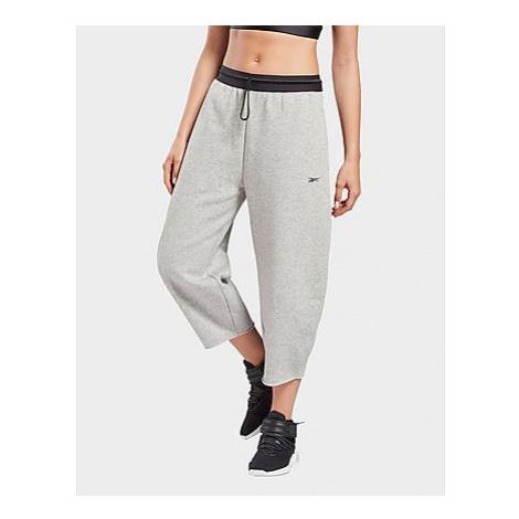 Reebok studio fleece pants - Medium Grey Heather - Damen, Medium Grey Heather