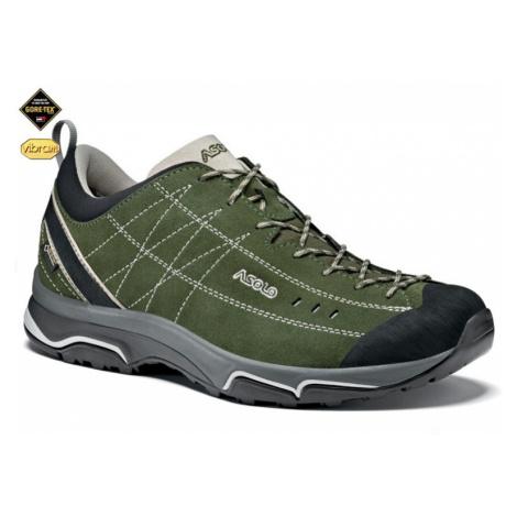 Schuhe ASOLO Nukleon GV Rifle grün / silber A750