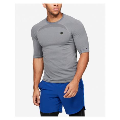 Under Armour RUSH™ Seamless T-Shirt Grau