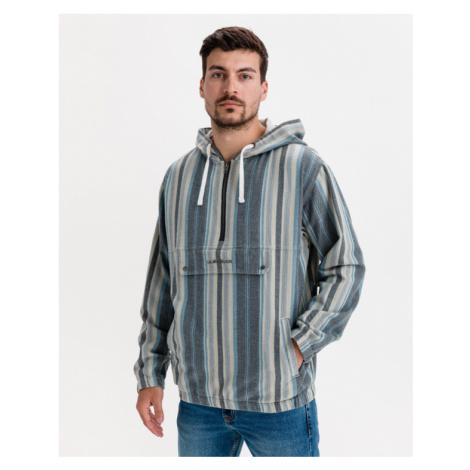 Quiksilver Neo Blue Twill Jacket Blau