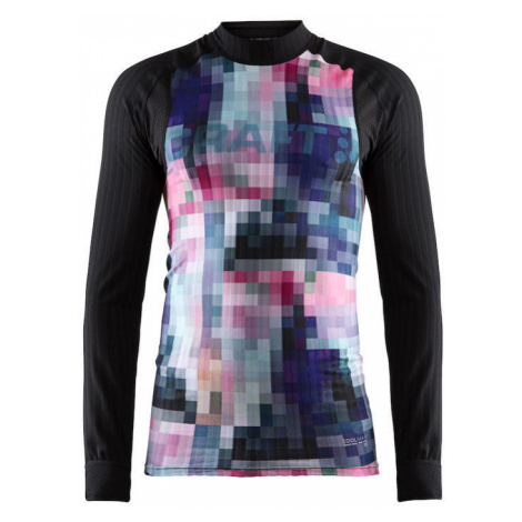 T-Shirt CRAFT Active Ext. 2.0 LS 1904495-9370 - black mit Druck