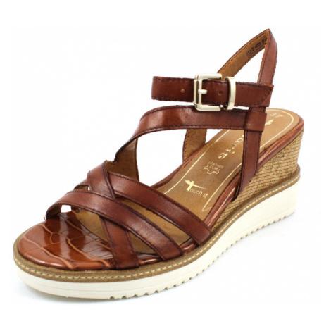 Damen Tamaris Klassische Sandalen braun