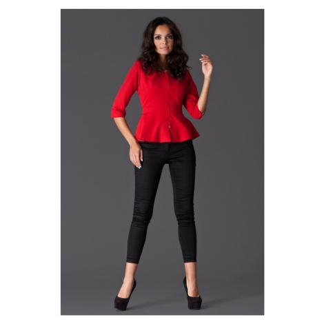 Damen Blazer M132 red Figl